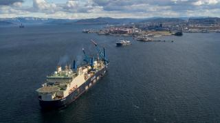 Pipelaying operations for Norway's largest oil pipeline are underway