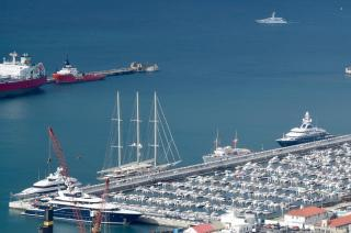Gibraltar Port Sees Record Number of Superyachts