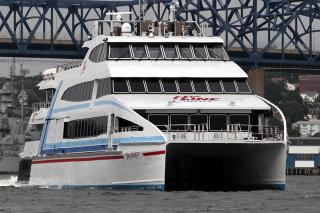 Evolutionary Catamaran Ferry Delivered to Hyline Cruises