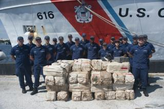 US Coast Guard offloads more than $50 million worth of cocaine