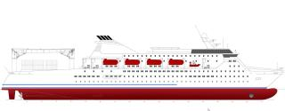 New design from KNUD E. HANSEN: Passenger Cargo vessels for India