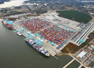 Container Stack-Yard Work at VIG Ends; Overall Expansion Project is on Target for June Completion