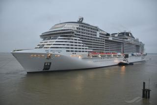 Valletta Cruise Port welcomes MSC Bellissima