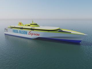 Austal Cuts Metal On Second 118M Trimaran For Fred.Olsen Express
