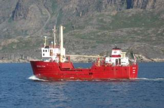 General cargo ship Angaju Ittuk collided with iceberg off Greenland