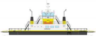 Belgium's VLOOT dab and Damen Shipyards Group signed a contract for 25-metre inland ferry