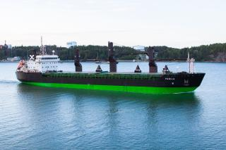 Spotted: ESL Shipping's vessels Kallio and Pasila got a new livery