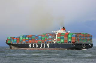 Hanjin vessel calls at SOHAR for the first time