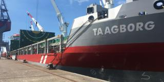 MV Taagborg - the first Wagenborg ship to receive the Polar Ship Certificate