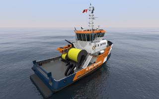 BRAvo 2500 Pollution Response Vessel: Purpose Designed by Robert Allan Ltd. to Protect Canada's West Coast