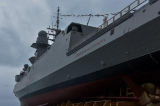 "Fincantieri: The Seventh Multipurpose Frigate ""Federico Martinengo"" Launched at the Riva Trigoso shipyard in Genoa"
