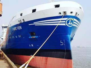 Gothia Tankers Alliance takers delivery of LNG-fueled tanker Fure Ven