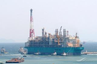 Petronas moves floating LNG facility to new location off Sabah