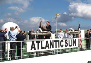 ACL Christens Its New G4 Vessel, ATLANTIC SUN, In The Port Of New York & New Jersey