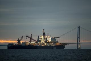 Pipelay Vessel Pioneering Spirit on Its Way to Join the Nord Stream 2 Construction Fleet