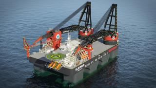 Heerema Awarded First Contracts for its new Crane Vessel Sleipnir