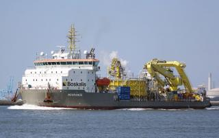 Boskalis Ndurance' cable trencher successfully tested at Alexiahaven
