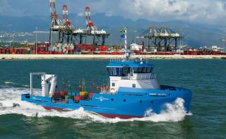 Damen signs with Port Authority of Jamaica for Utility Vessel 3911
