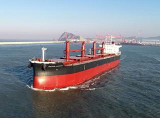 Kawasaki Heavy Industries delivered Bulk Carrier Captain Haddock