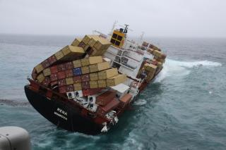 Dramatic Drop in Containers Lost at Sea