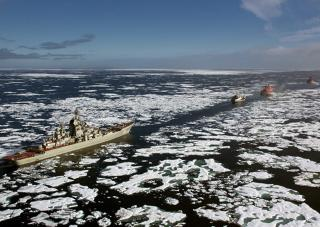 Russian Military Muscling into the Arctic