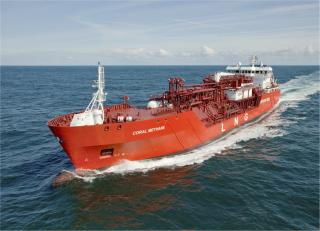 Shell and Anthony Veder to modify Coral Methane to LNG bunker vessel
