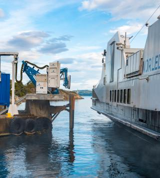 Another world's first for Wärtsilä - wireless charging for hybrid coastal ferry successfully tested