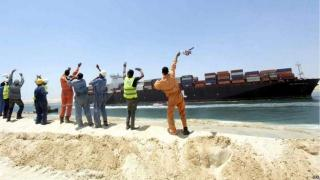 First Cargo Carriers Reportedly Go Through Test-Run Through New Suez Canal
