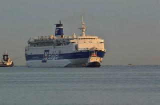 Fire Bursts Out Aboard Ferry Af Francesca In The Adriatic Sea