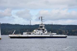 Seaspan and BC Ferries celebrate the success of the Baynes Sound Connector