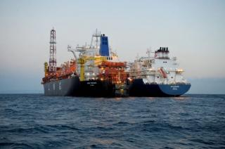 The operations of discharge of LNG into the OLT Terminal for the Peak Shaving service were concluded