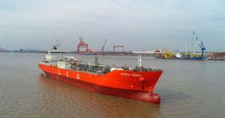 Two LEG Carriers built by Sinopacific with Wärtsilä solutions onboard are named