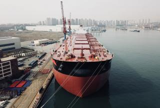 Vale's 400,000-ton newbuild ore carrier delivered in Qingdao