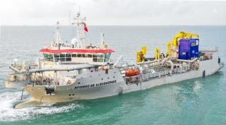Keppel delivers world's first EU Stage V dredger