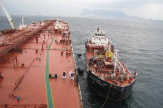 Cepsa, the first bunker supplier in the Strait of Gibraltar with mass flow meters on its barges (Video)