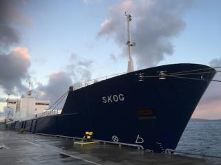 Watch: Rescue operation of striken cargo ship Skog off Orkney Islands