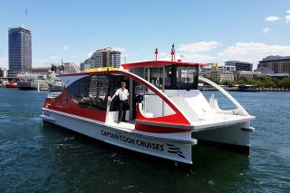 Incat Crowther launches a pair of small low impact ferries to serve Sydney's Bay Precinct