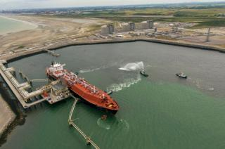 Commercial commissioning of the Dunkirk regasification terminal