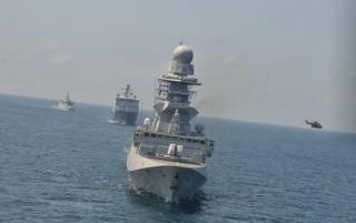 Spotted: EU NAVFOR Countering Piracy off the coast of Somalia