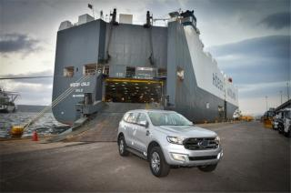 Höegh transports first New Ford Everest assembled in South Africa on board Höegh Oslo