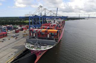 South Carolina Ports Handles Record July Container Volume