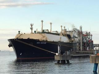 First cargo of LNG from the Wheatstone Project loaded onto the Asia Venture arrived at Futtsu LNG Terminal
