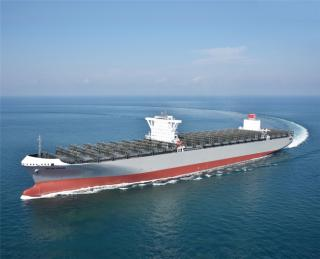 K-Line takes delivery of 14000-TEU containership Milano Bridge
