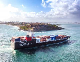 Crowley Christens El Coquí, Heralding a New Era in the U.S. Mainland-Puerto Rico Supply Chain