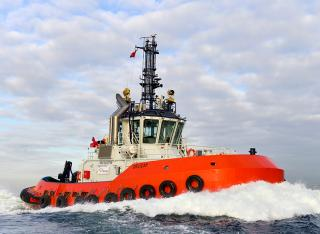 Kinaki - The first of Sanmar Delicay tug series heads for New Zealand