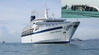 Chinese Cruise Ship Abandoned For a Year Capsizes and Sinks off Thailand (Video)