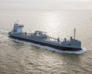 Ferus Smit Delivers World's 1st LNG-Powered Cement Tanker