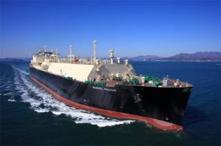 New LNG Carrier for Mitsui & Co. Cameron LNG Project Named Marvel Falcon