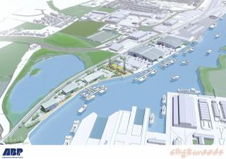 ABP invests £1 million in port of Lowestoft as part of energy hub vision