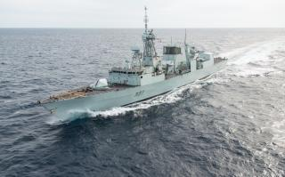Victoria Shipyards signs contract to maintain Canada's West Coast-based Halifax-class Frigates